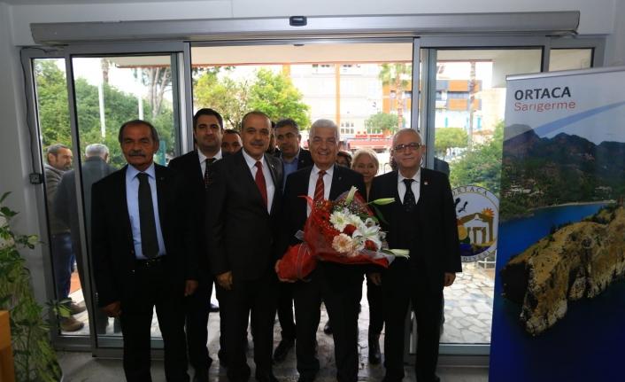 MBB Başkanı Osman Gürün, Başkan Alim Uzundemir'i Ziyaret Etti