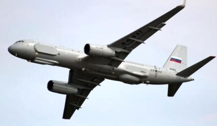 Rusya En Gelişmiş İstihbarat Gözlem Uçağını Gönderdi!