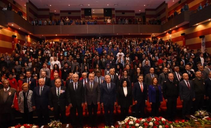 Vali Civelek Mehmet Akif Ersoy'u Anma Programına Katıldı