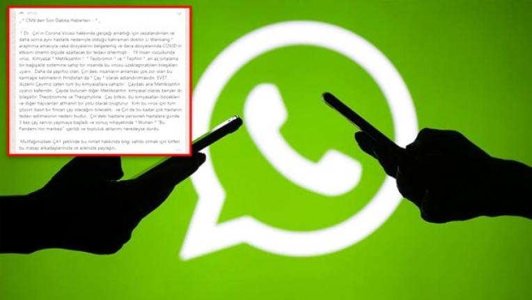 WhatsApp'ta Elden Ele Dolaşan Bir Mesaj Daha Asılsız Çıktı