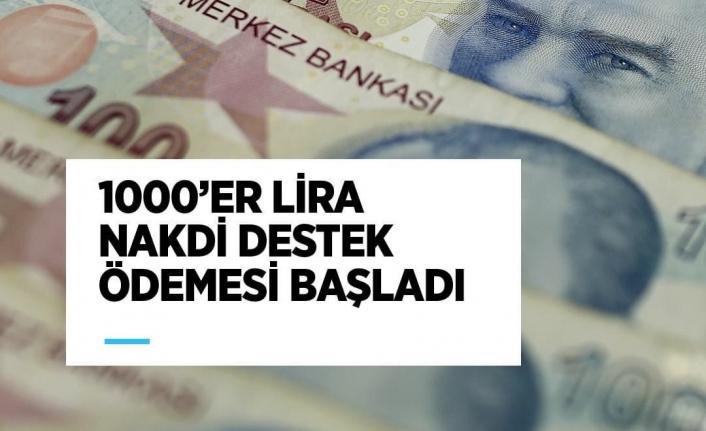 """Bakan Selçuk, """"1000'er Lira Destek Ödemesi Bugün Başladı"""""""