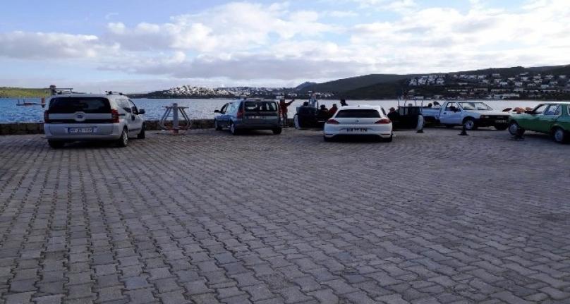 Bodrum'da Sahilde Toplanıp Alkol Alan 6 Kişi Ceza Yedi