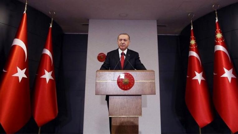 Erdoğan'ın, Hediye Maske ve Kolonya Paketinde Sürpriz Mektup