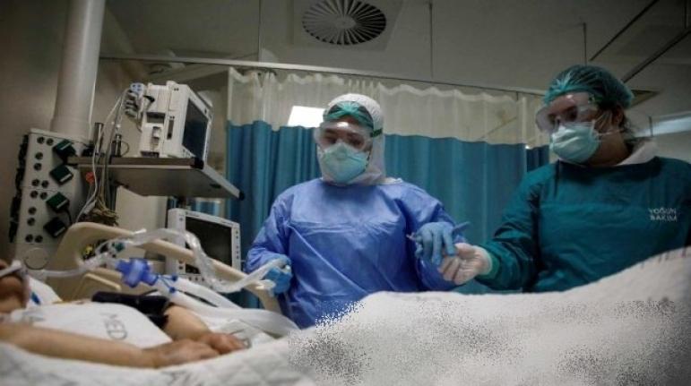 İstanbul'da Bir Hastanenin Koronavirüs Ünitesi İlk Kez Görüntülendi