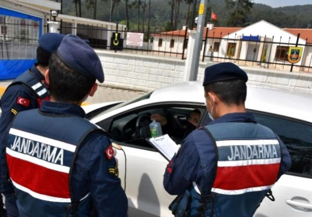 Marmaris'in Kilit Kontrol Noktasında Korona Tedbirleri Artırıldı