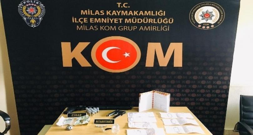 Milas'ta Gözaltına Alınan 7 Şebeke Üyesinden 3'ü Tutuklandı