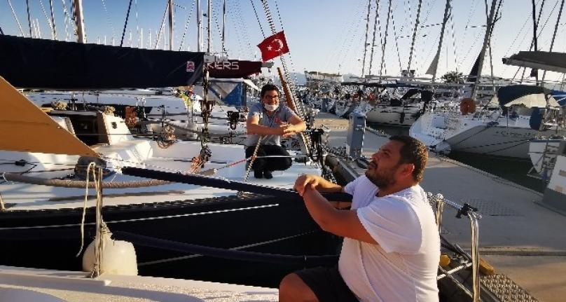 Salgınla Gelen Seyahat Yasağı Marmaris Teknelerinde Mahsur Bıraktı