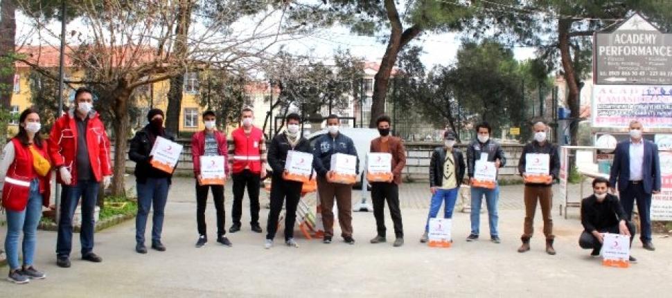 Zor Durumdaki Yabancı Uyruklu Öğrencilere Gıda Yardımı
