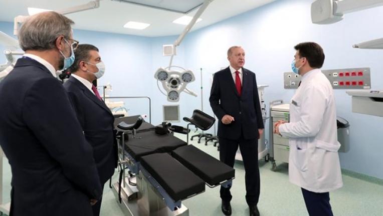 45 Günde Tamamlanan Koronavirüs Hastanesi Hizmete Girdi!