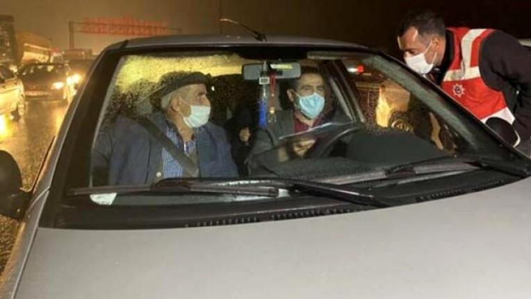 65 Yaş Üzeri Vatandaşlar, Gece Vakti Memleketlerine Doğru Yola Çıktı