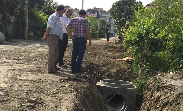 Bahçelievler Mahallesi Kilitli Parke Çalışmaları Sürüyor