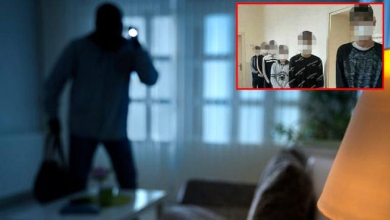 Girdikleri Evlerde Ziyafet Çeken Hırsızları Deliller Yakalattı