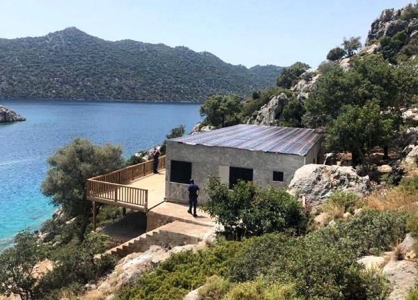 Koronayı Fırsat Bilip Doğal Sit Alanına Yapılan Villa Mühürlendi