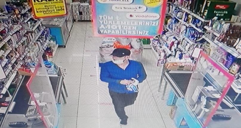 Marketlere Dadanan Telefon Hırsızları Polise Yakalandı