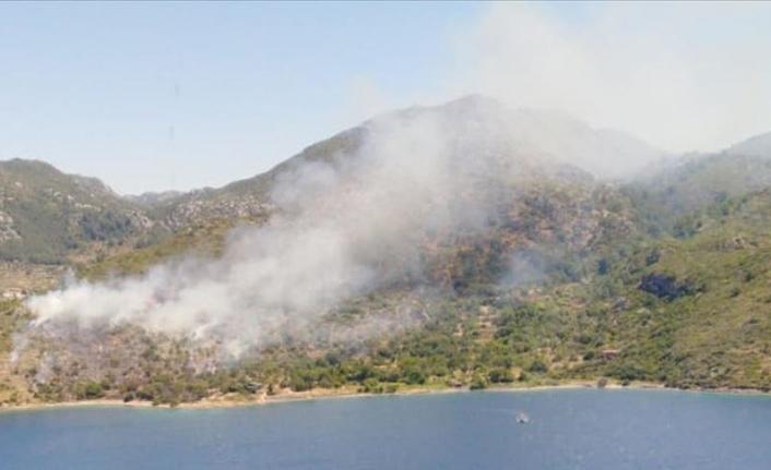 Marmaris'te Makilik Alanda Yangın Çıktı!