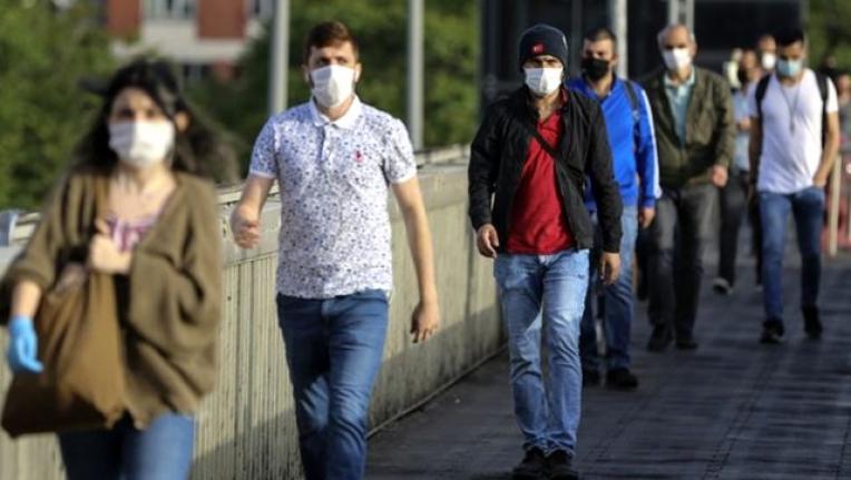 Maskesiz Sokağa Çıkmanın Yasak Olduğu İl Sayısı 35'e Yükseldi