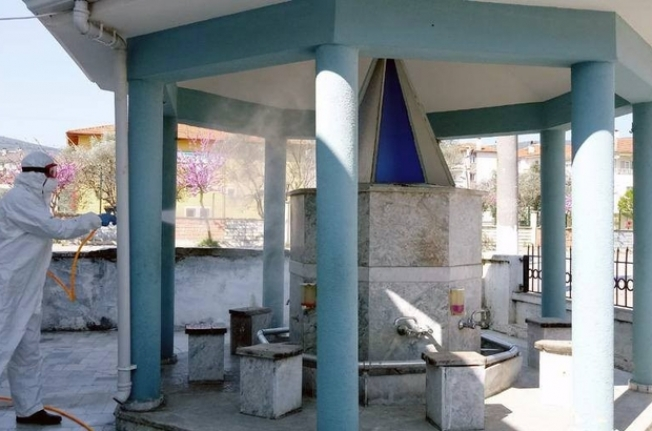 Menteşe'de Camiler İbadete Hazır