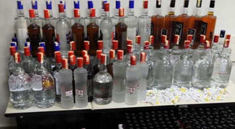 Muğla'da 194 Litre Sahte İçki Ele Geçirildi