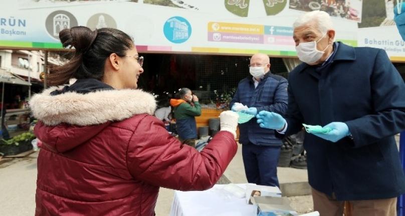 Muğla'da 500 Bin Ücretsiz Maske Dağıtıldı
