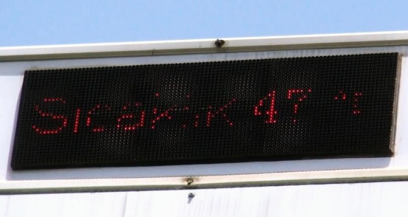 Muğla'da Termometre Çıldırdı: 47 Derece