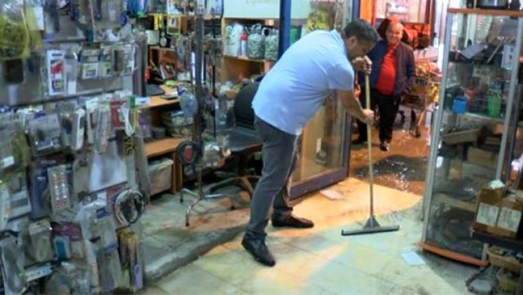 Otogardaki 80 Dükkanı Sel Bastı! Otogar Esnafı, İBB'yi Suçladı