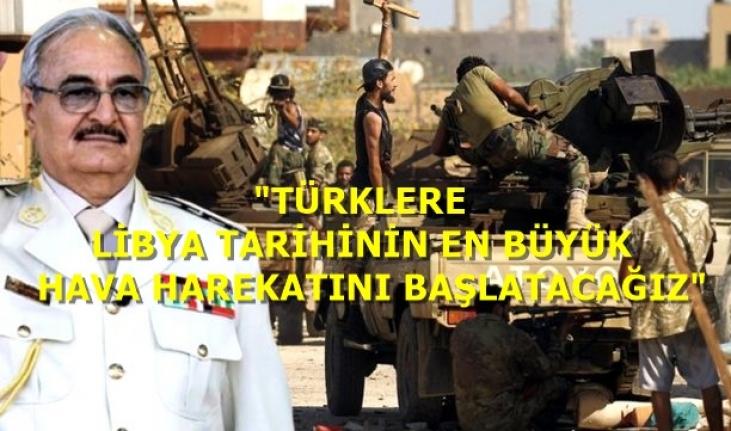 Rusya, Hafter'e 8 Savaş Uçağı Gönderdi, Türkiye'ye Tehdit Gecikmedi!