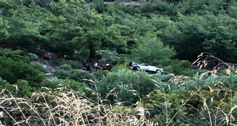 Bodrum'da Uçuruma Yuvarlanan Aracın Sürücüsü Hayatını Kaybetti