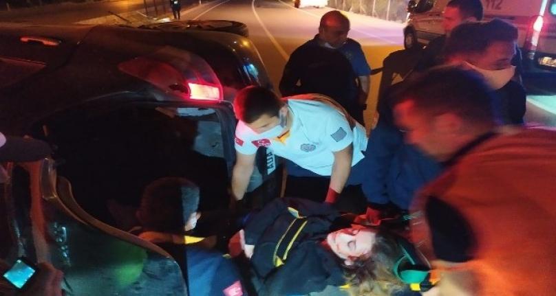 Dalaman-Fethiye Yolunda Yaşanan Kazada 1 Kişi Yaralandı