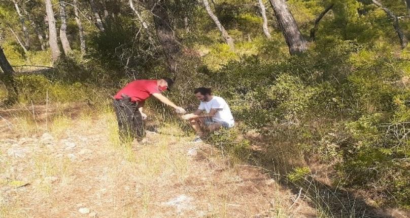 Fethiye'de Doğa Yürüyüşünde Kaybolan Kişiyi JAK Buldu!