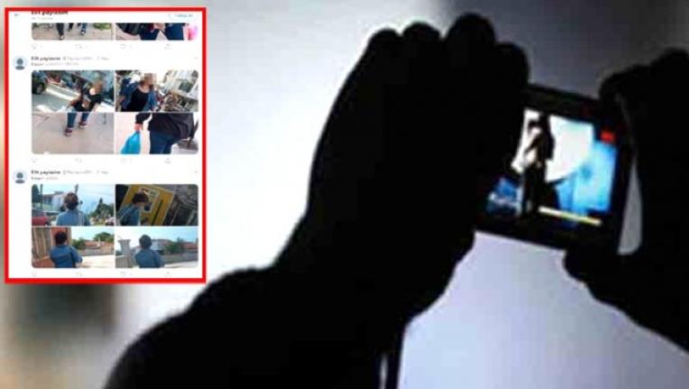Gizlice Fotoğraf Çekip Sosyal Medyada Paylaşan Şahıs Aranıyor