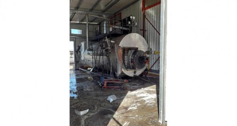 Milas'ta Buhar Kazanı Patladı: 1 Kişi Yaralandı!