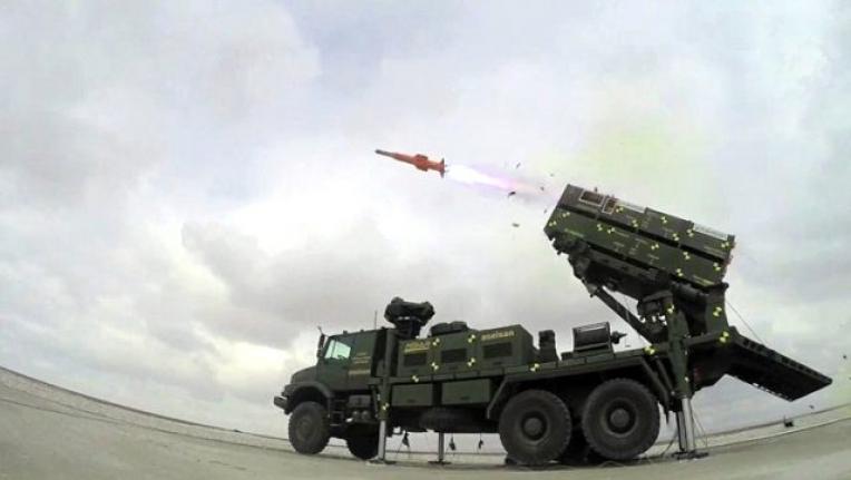 Milli Hava Savunma Sistemi Hisar-O Suriye Sınırına Konuşlandırıldı