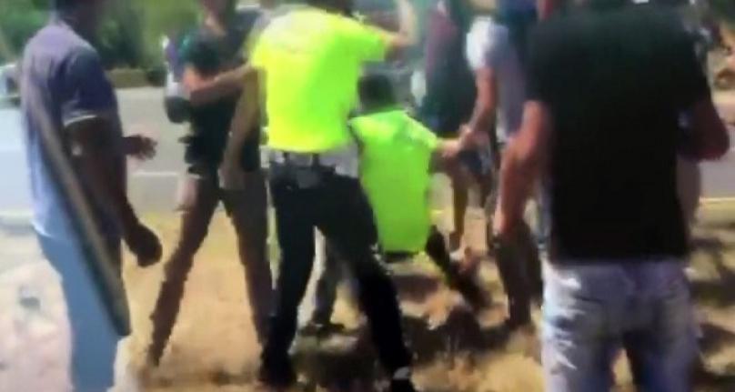 Köyceğiz'de Uygulama Yapan Trafik Polisi Saldırıya Uğradı!
