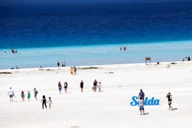 Salda Gölü Tekrar Göz Kamaştırıyor