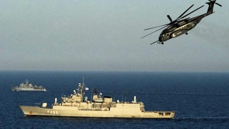 Türk Donanması'ndan Yunan Helikopterine Müdahale!