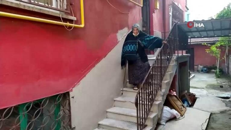 Yaşlı Kadının 800 Bin TL'lik Altınıyla Kaçan Kişi Yakalandı!