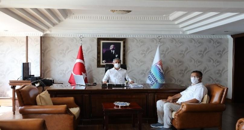 Doğu Türkistan Milli Meclis Başkanı Marmaris'te