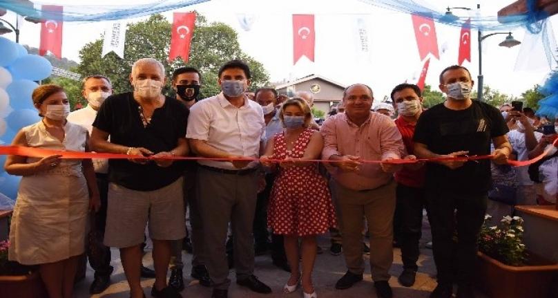 Göcek Halk Evi'nin Açılışı Haluk Levent'in Katılımı ile Yapıldı