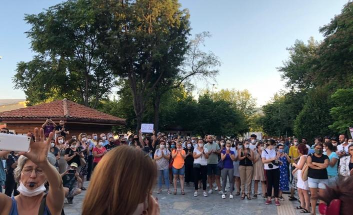 Muğla'da Kadınlar Pınar Gültekin için Eylem Yaptı!