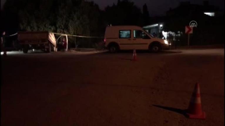 Ortaca'da Polisten Kaçan Sürücü Bahçe Duvarına Çarptı!