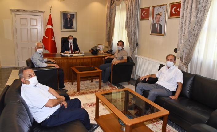 Saadet Partisi İl Yönetiminden Vali Orhan Tavlı'ya Ziyaret