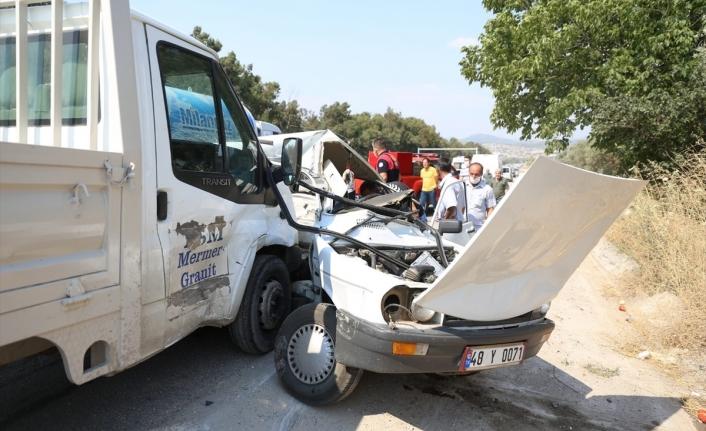 Yatağan'da Feci Kaza: 1 Ölü 1 Yaralı!