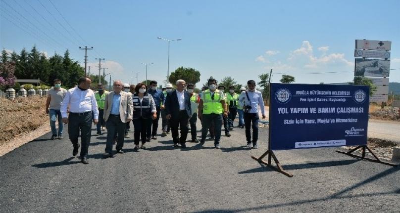 Başkan Gürün Ula'daki Yatırımları İnceledi