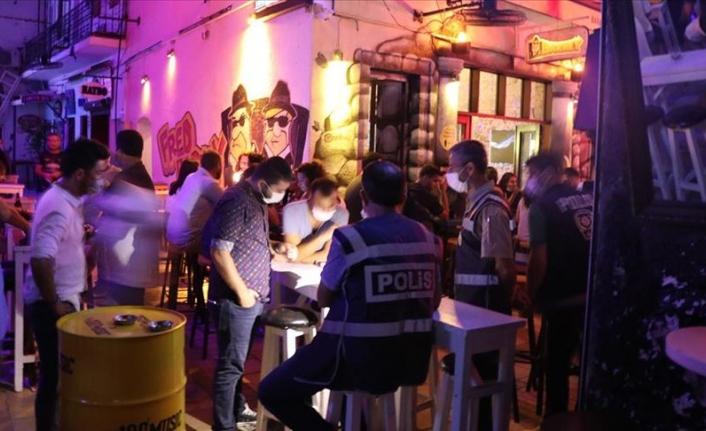 Bodrum'da İş Yerlerine 150 Polisle Koronavirüs Denetimi