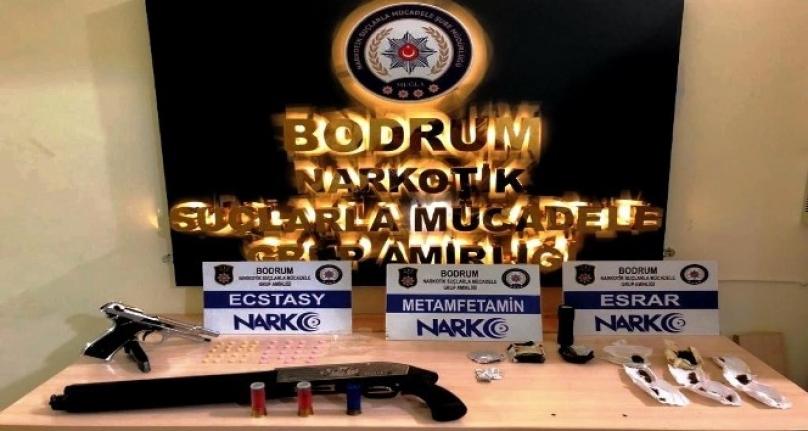 Bodrum'da Uyuşturucu Operasyonu: 2 Gözaltı!