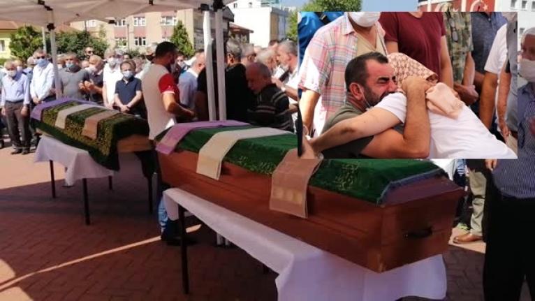 Bodrum'daki Kazada Ölen İki Arkadaşa Gözü Yaşlı Veda