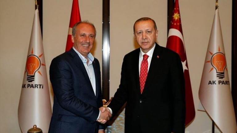 Erdoğan'dan Muharrem İnce'ye Tam Destek: En Tabii Hakkı