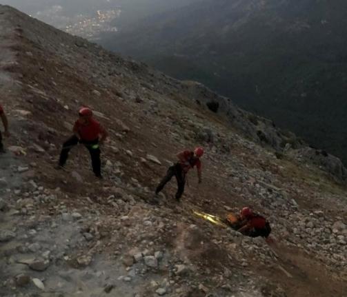 Fethiye'de, Kayalıklara Düşen İngiliz Pilotu JÖAK ve JAK Kurtardı