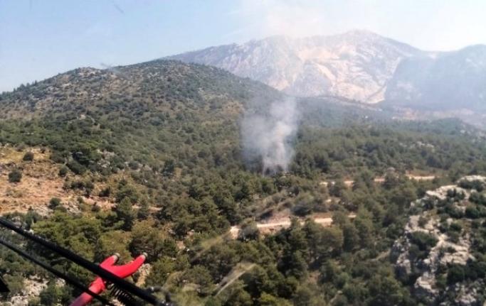 Fethiye'de Orman Yangını Çıktı!