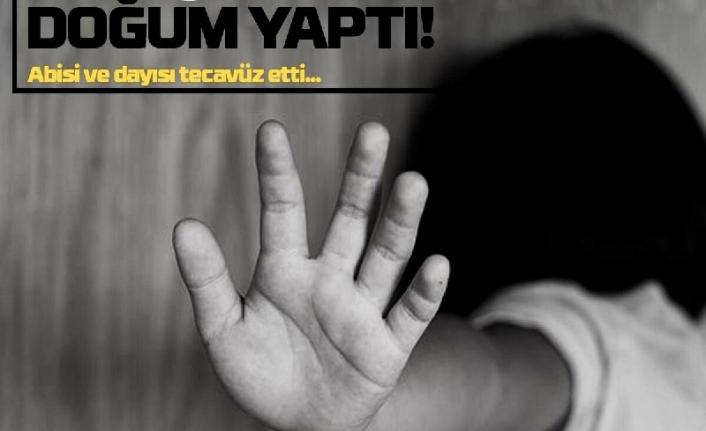 Karın Ağrısı Şikayetiyle Hastaneye Giden Çocuk Doğum Yaptı!